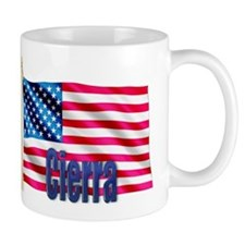 Cierra Personalized USA Gift Mug