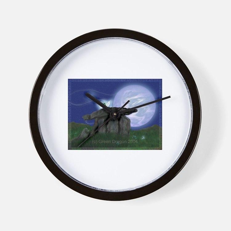 Cute Fairy digital Wall Clock