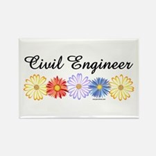 Civil Engineer Asters Rectangle Magnet