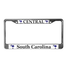 Central South Carolina License Plate Frame