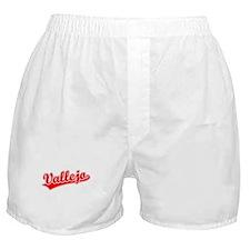 Retro Vallejo (Red) Boxer Shorts