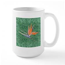 Green Bird of Paradise Mug