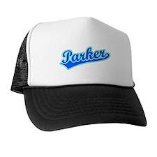 Retro Parker (Blue) Trucker Hat
