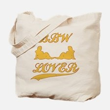 BBW LOVER (Big Beautiful Woman) Tote Bag