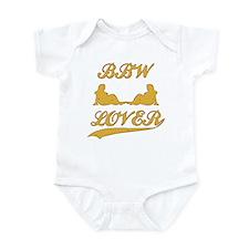 BBW LOVER (Big Beautiful Woman) Infant Bodysuit