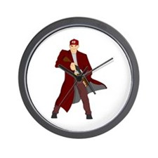 Cute Assassin Wall Clock