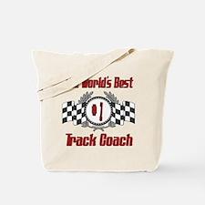 Racing Track Coach Tote Bag