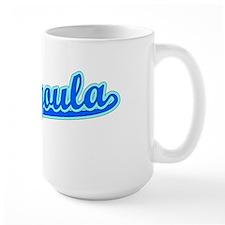 Retro Pascagoula (Blue) Mug