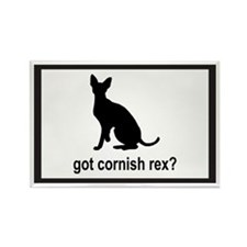 Got Cornish Rex? Rectangle Magnet