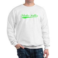 Vintage Idaho Falls (Green) Sweatshirt