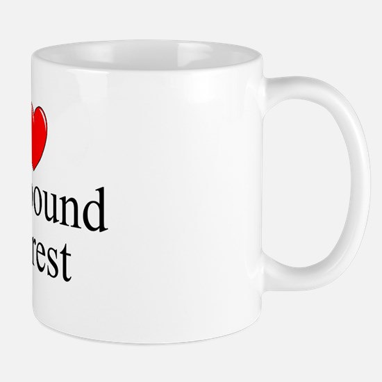 """I Love (Heart) Compound Interest"" Mug"