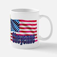 Cheyenne Personalized USA Gift Mug