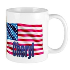 Cheryl Personalized USA Gift Mug
