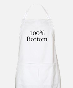 100% Bottom BBQ Apron