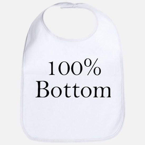 100% Bottom Bib