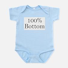 100% Bottom Infant Creeper