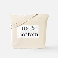 100% Bottom Tote Bag