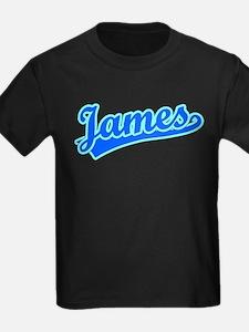 Retro James (Blue) T