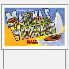 Martha's Vineyard Cape Cod Yard Sign