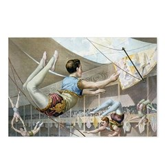 Trapeze Artists Postcards (Package of 8)
