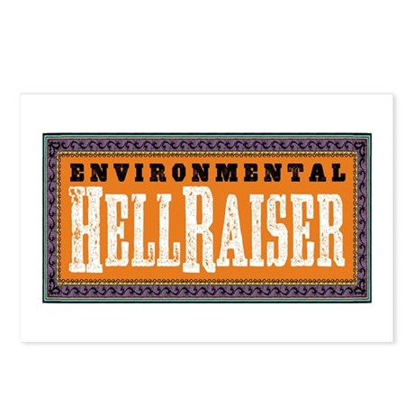 Environmental Hellraiser Postcards (Package of 8)