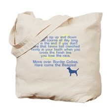 Move Over Beagle Flyball Tote Bag