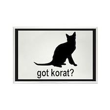 Got Korat? Rectangle Magnet