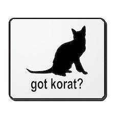 Got Korat? Mousepad