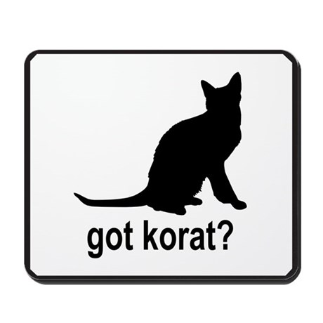 Got Korat? Mousepad