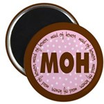Polka Dot Maid of Honor Magnet