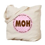 Polka Dot Maid of Honor Tote Bag