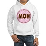 Polka Dot Maid of Honor Hooded Sweatshirt