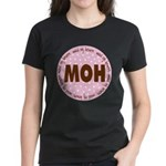 Polka Dot Maid of Honor Women's Dark T-Shirt