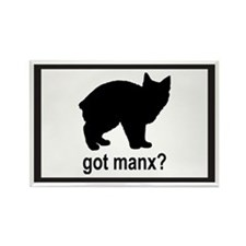 Got Manx? Rectangle Magnet