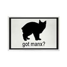 Got Manx? Rectangle Magnet