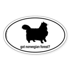 Got Norwegian? Oval Bumper Stickers