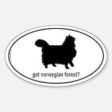 Got Norwegian? Oval Decal