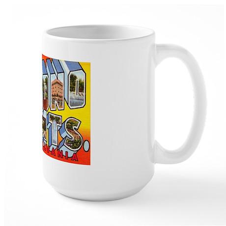 Pocono Mts Pennsylvania Large Mug