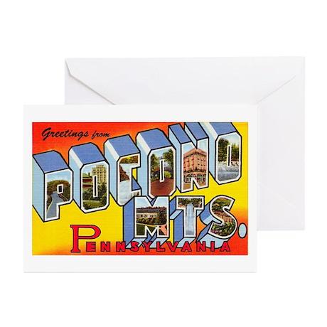 Pocono Mts Pennsylvania Greeting Cards (Pk of 10)