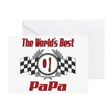 Racing PaPa Greeting Card