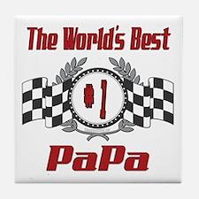 Racing PaPa Tile Coaster