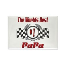 Racing PaPa Rectangle Magnet (10 pack)