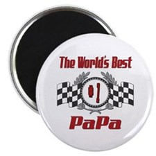 "Racing PaPa 2.25"" Magnet (10 pack)"