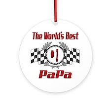 Racing PaPa Ornament (Round)