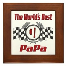 Racing PaPa Framed Tile