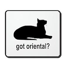 Got Oriental? Mousepad