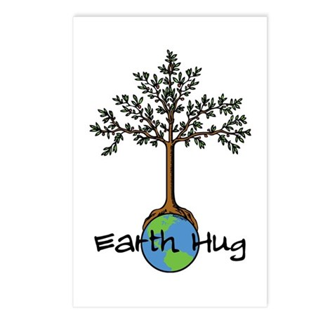 Earth Hug Postcards (Package of 8)
