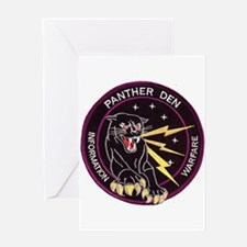 Panther Den Greeting Card