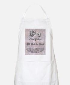 King of the Kitchen - All Hail the King Apron
