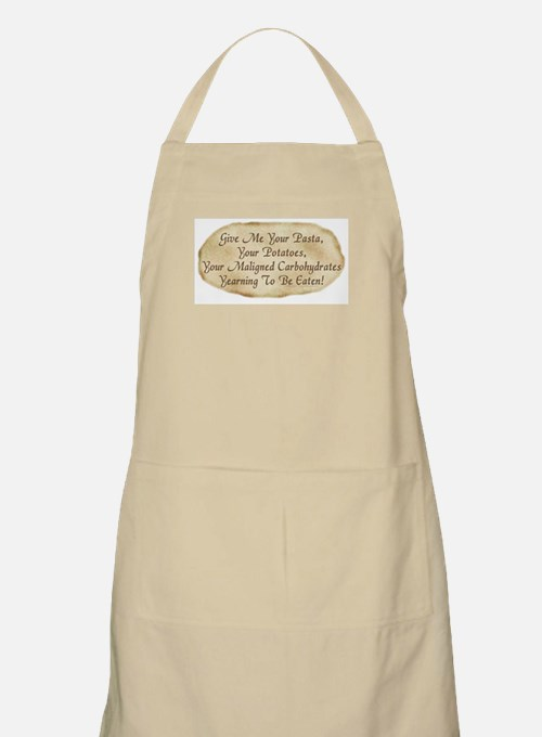 Give Me Your Carbohydrates Apron